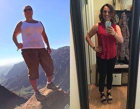 Nie mogła patrzeć na zdjęcia z wakacji i postanowiła schudnąć. Niezwykła metamorfoza
