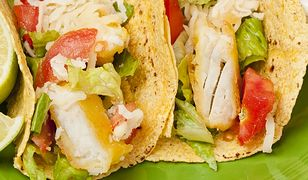 Tacos z rybą i awokado