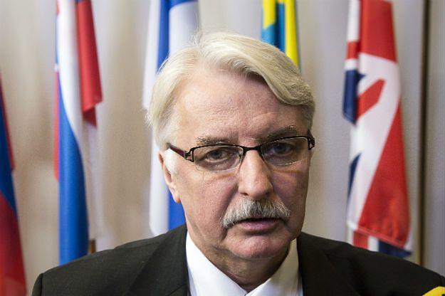Witold Waszczykowski: nie ma konfliktu między Polską a UE