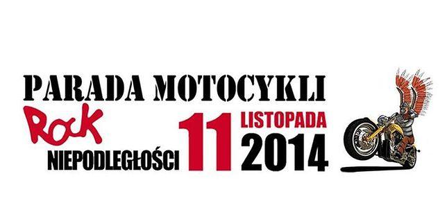 Parada Motocykli ROCK Niepodległości 2014