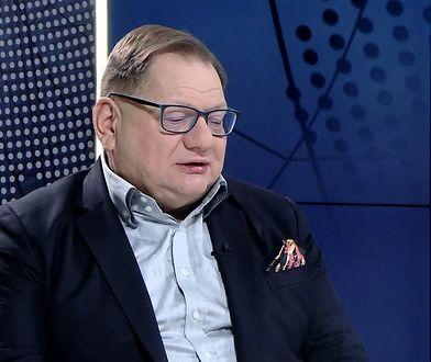 """Ryszard Kalisz o """"pornogrubasie"""""""