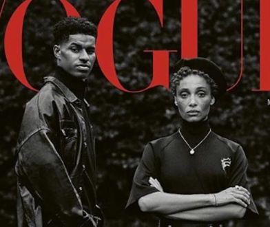 """Pierwszy piłkarz na okładce brytyjskiego """"Vogue"""". To wydanie ma symboliczne znaczenie"""