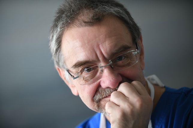 Romuald Dębski to ordynator oddziału ginekologiczno-położniczego w Szpitalu Bielańskim w Warszawie