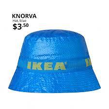 IKEA wprowadza super wytrzymałe kapelusze z popularnego materiału
