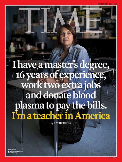 Hope Brown na okładce Time