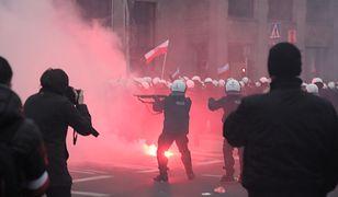Marsz Niepodległości. Rząd chce wyjaśnień w sprawie działań policji