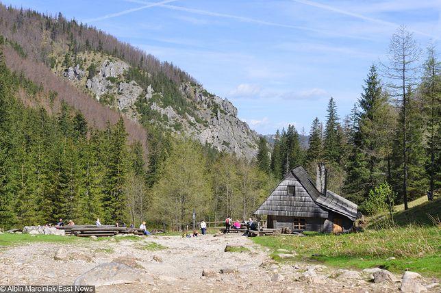 Herbaciarnia w Dolinie Strążyskiej w Tatrach jest zamknięta