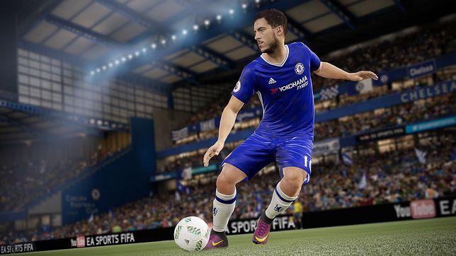 FIFA 18 jest w Polsce promowana przez Kamila Glika