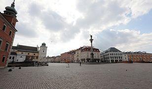 Pogoda w Warszawie w sobotę 3 kwietnia. Może popadać