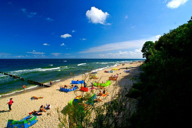 Pogoda nad morzem. Słoneczna i gorąca aura w nadchodzący weekend