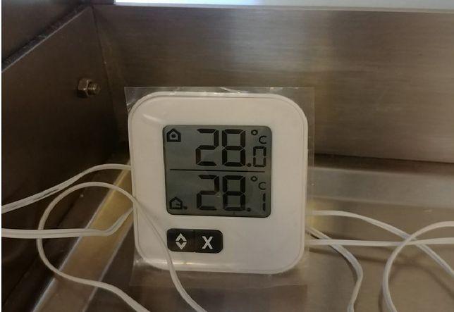 To temperatura na sali zabiegowej - napisał lekarz.