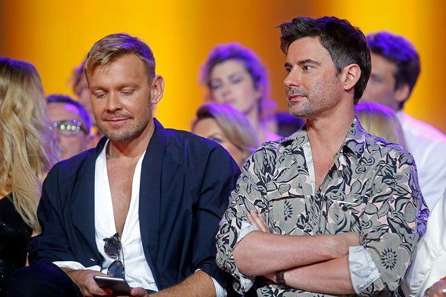 """""""Top Model"""": Marcin Tyszka i Dawid Woliński licytują się, który ma więcej... centymetrów [WIDEO]"""