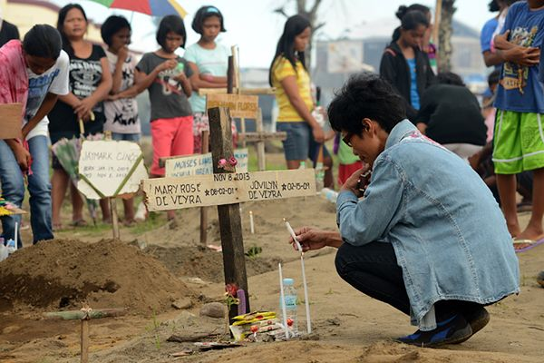 Oficjalny bilans: ponad 6 tys. ofiar tajfunu Haiyan