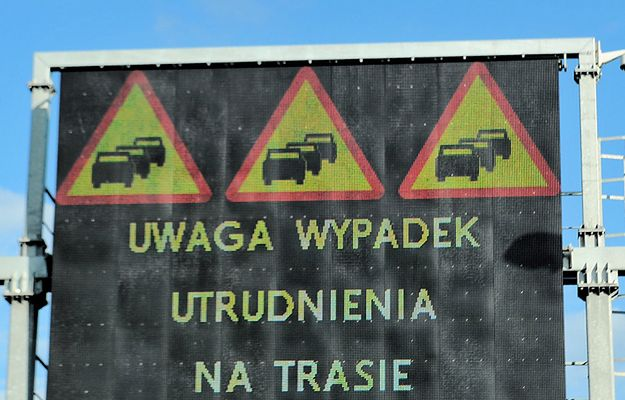 Wypadek 5 tirów na autostradzie A4. Droga zablokowana pod Wrocławiem