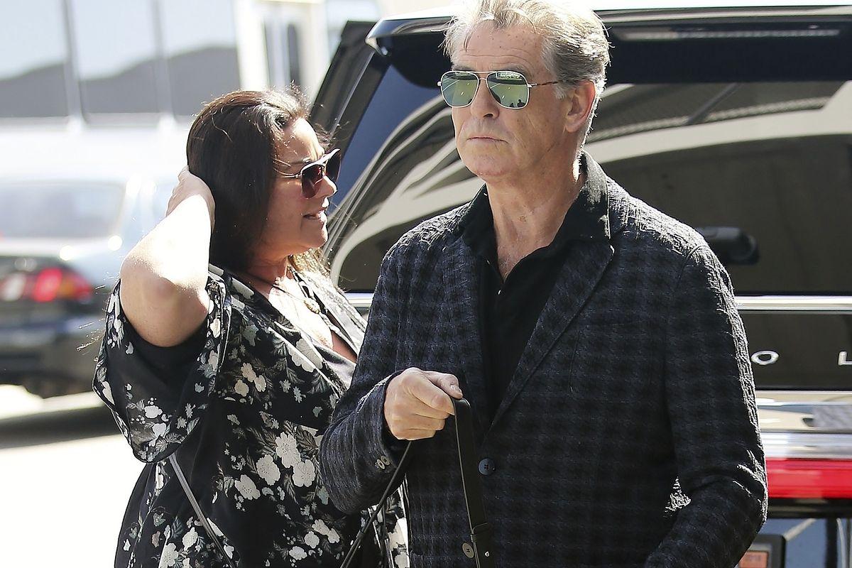 Pierce Brosnan pokazał się z żoną. Jest jej wierny od 24 lat