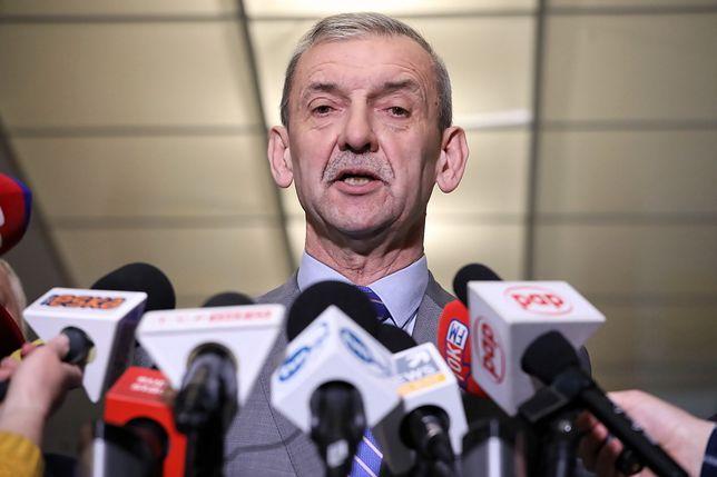 Poszło o wpis prezesa ZNP Sławomira Broniarza na Twitterze
