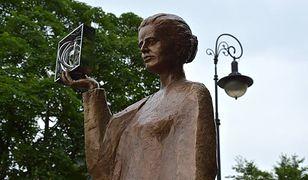 Odsłonięcie pomnika Marii Skłodowskiej-Curie [ZDJĘCIA]