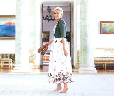Aukcja Agaty Dudy dla WOŚP zakończona. Sukienka poszła za duże pieniądze