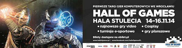 Wielkie święto gier we Wrocławiu - Hall of Games 2014!