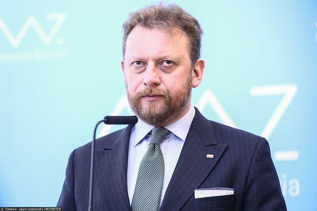 Koronawirus w Polsce. Łukasz Szumowski zareagował na doniesienia na swój temat