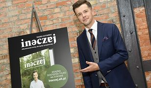 """Radek Kotarski na premierze swojej książki """"Inaczej"""""""