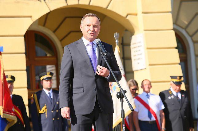 Andrzej Duda zapewnił, że programy wsparcia dla rodziny nie zostaną przerwane