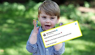 Książę Louis skończył 2 lata