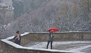 W Bergamo na północy Włoch już pada śnieg