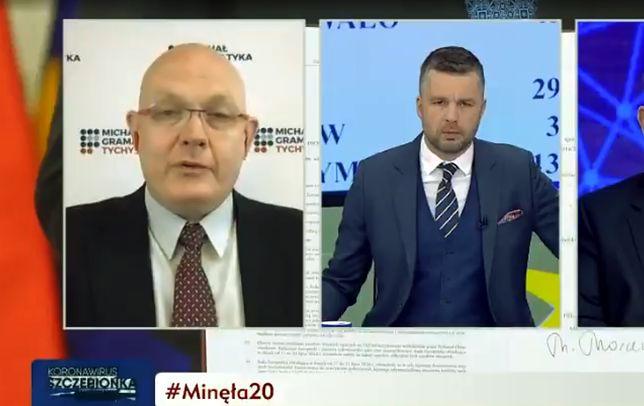 Michał Rachoń wystawił się na ciętą ripostę posła PO