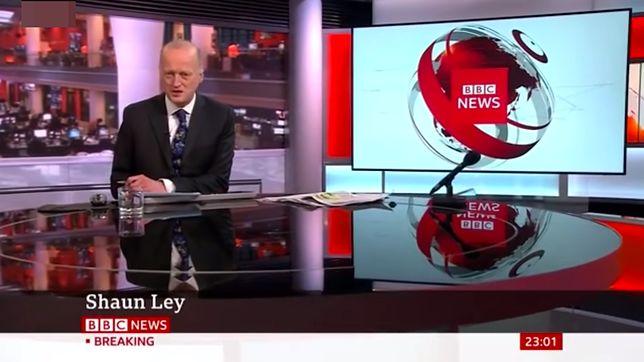 Shaun Ley od ponad 30 lat pracuje dla BBC