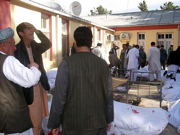 Afganistan: co najmniej 37 zabitych w zamachu samobójczym
