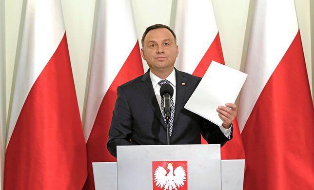 Inicjatorem zmian konstytucji jest Andrzej Duda