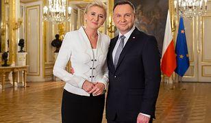 Andrzej i Agata Dudowie wygłosili orędzie z okazji 100. rocznicy odzyskania niepodległości