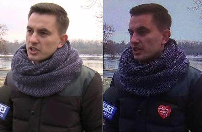 W 2017 roku poseł Arkadiusz Myrcha informował, że przy montażu usunięto serduszko z jego kurtki