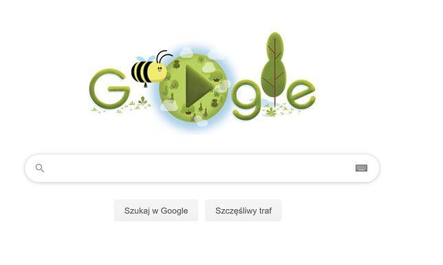 Google Doodle świętuje Dzień Ziemi 2020. Tegoroczne obchody zostały przeniesione do internetu