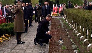 Prezydent Andrzej Duda: nie wolno dzielić tych, którzy polegli za ojczyznę