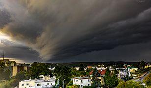 Pogoda. Zdjęcie wału szkwałowego z Gdyni robi furorę w sieci