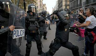 Ostre starcia w Hiszpanii