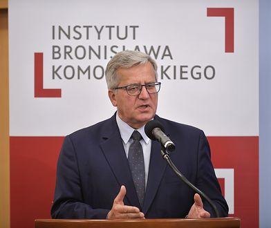 Bronisław Komorowski, były prezydent RP