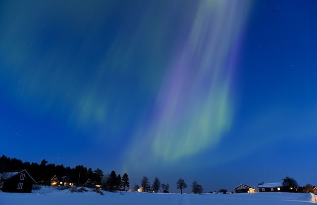 Tajemnicze światła na niebie - zobacz zdjęcia