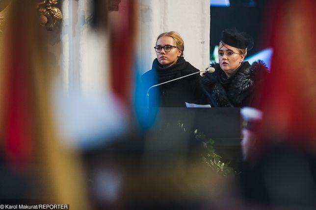 - Dzisiaj potrzebna jest nam cisza, ale nie może oznaczać milczenia - mówiła wdowa po prezydencie