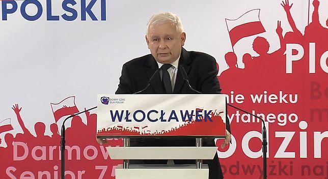 Jarosław Kaczyński we Włocławku: Polska musi być krajem dobrze funkcjonującym