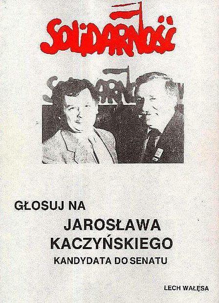 Zanim drogi się rozeszły. To zdjęcie sprzed 28 lat pozwoliło Kaczyńskiemu wejść do polityki