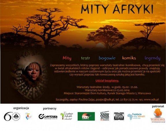 Za darmo: Mity Afryki - warsztaty komiksowe
