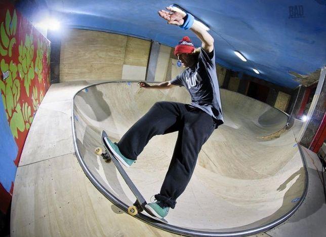Nowe miejsca: skatepark Burn Bowl