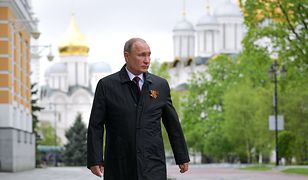 Władimir Putin podczas obchodów Dnia Zwycięstwa