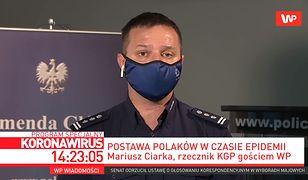 Koronawirus w Polsce. Mariusz Ciarka: Dla łamiących kwarantannę nie ma taryfy ulgowej
