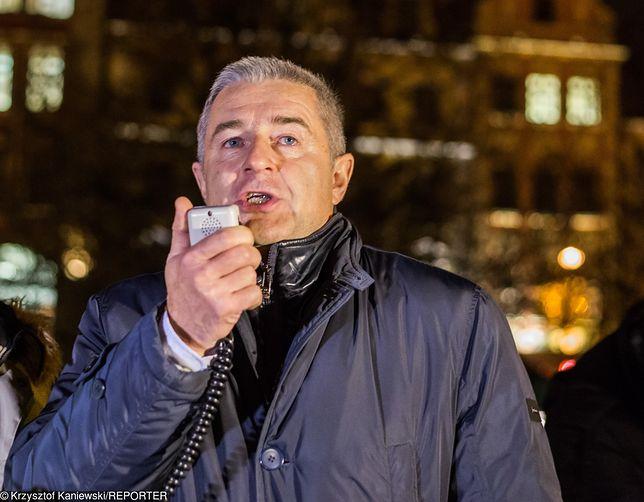 Władysław Frasyniuk twierdzi, że nie kopnął policjanta