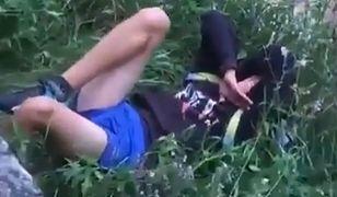 Chłopak spadł z wysokości ok. 3 metrów