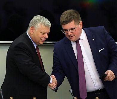 Marek Suski (PiS) i Tomasz Rzymkowski (Kukiz'15)